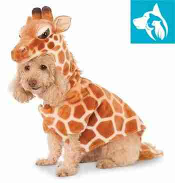 halloween emotional support pet giraffe